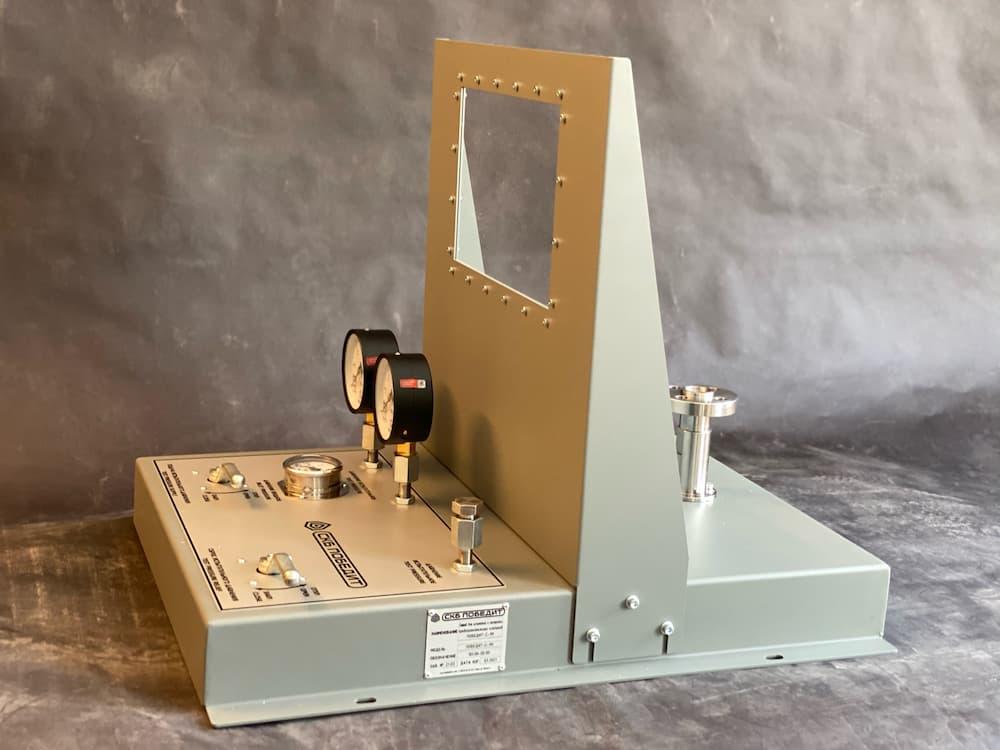Мобильный стенд для испытаний и настройки предохранительных клапанов ПОБЕДИТ-С-1М