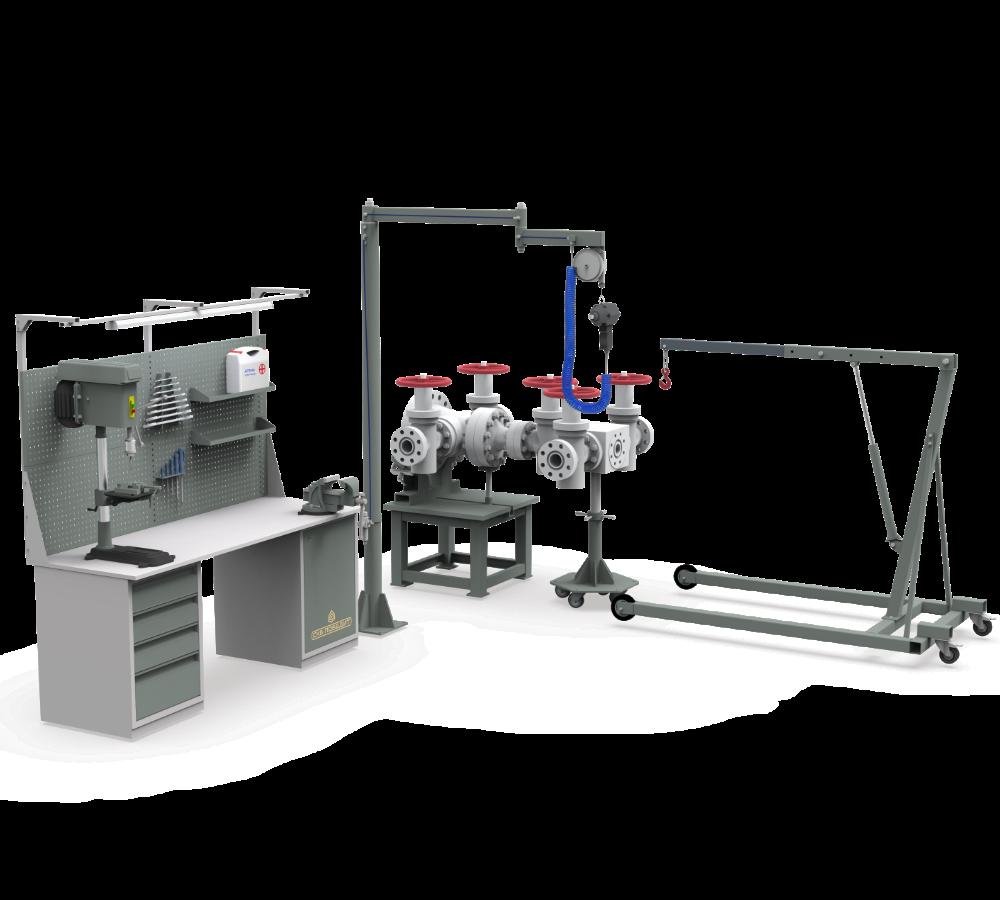 Технология сборки и разборки трубопроводной арматуры