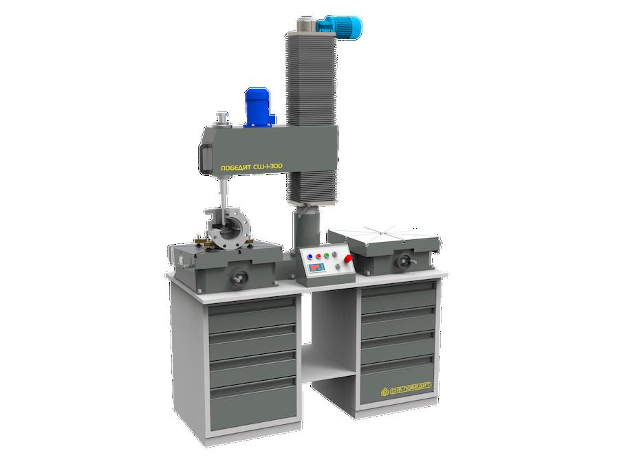 Станок для шлифования и притирки плоских деталей и поверхностей ПОБЕДИТ-СШ-1-300