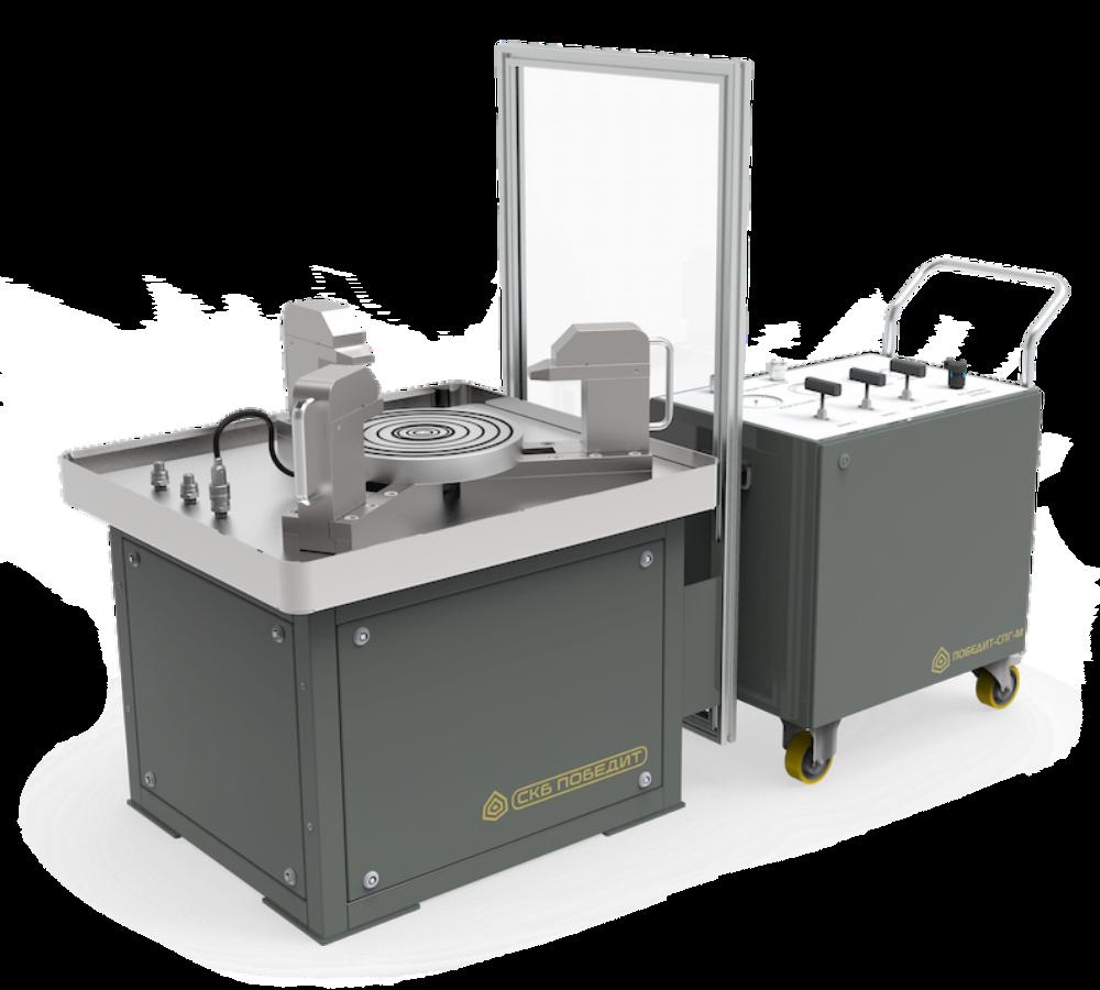 Стенд для испытаний и настройки предохранительных клапанов ПОБЕДИТ-С-1-300-25