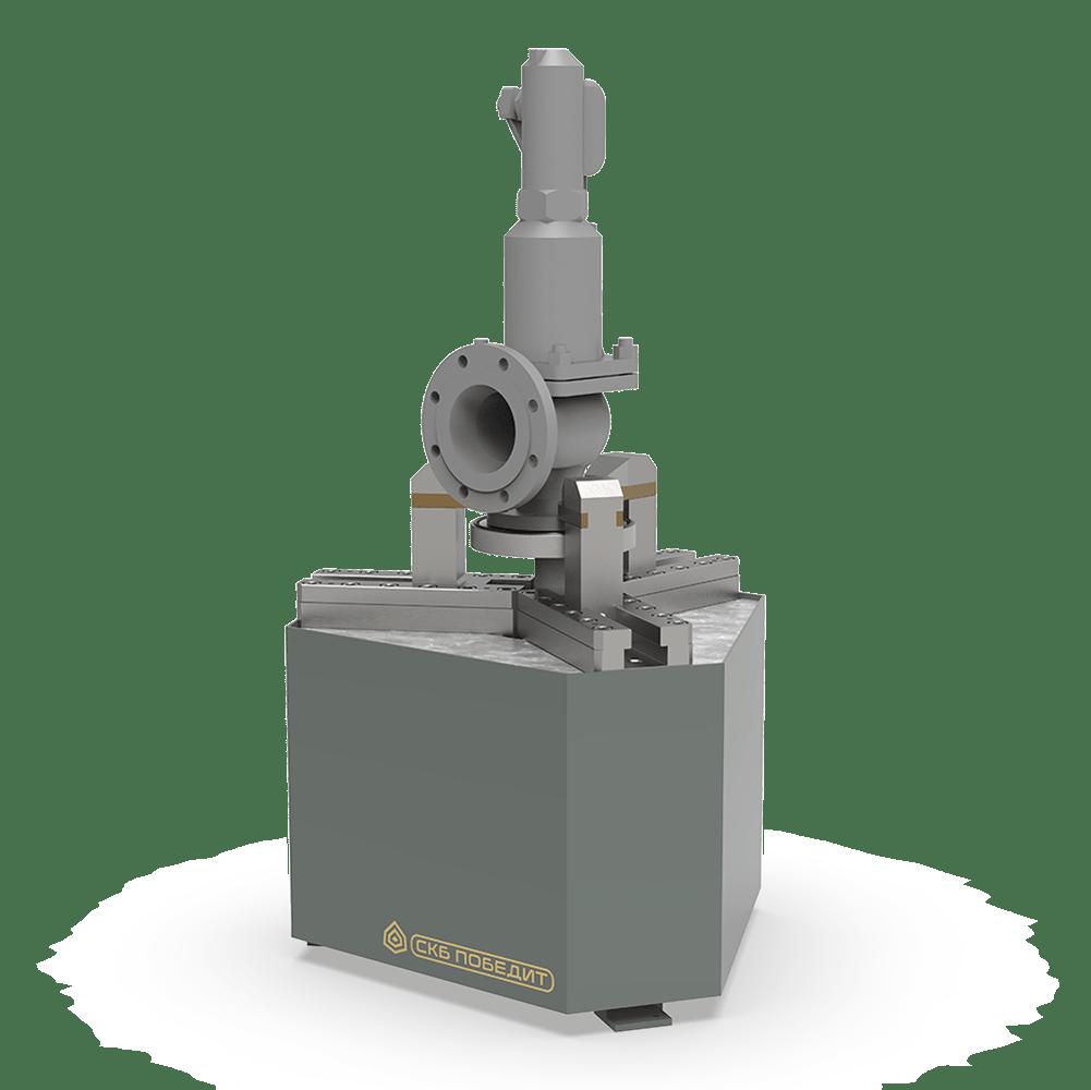 Стенды для испытаний и настройки предохранительных клапанов ПОБЕДИТ-С-1
