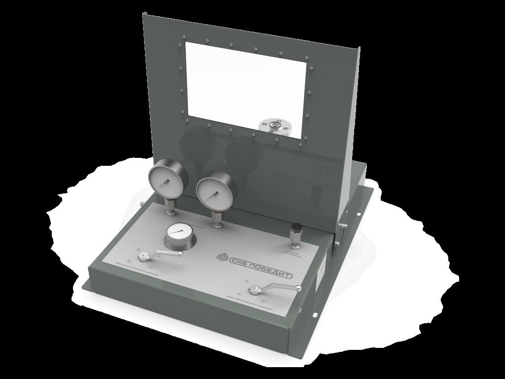 Стенд для испытаний и настройки предохранительных клапанов ПОБЕДИТ-С-1М