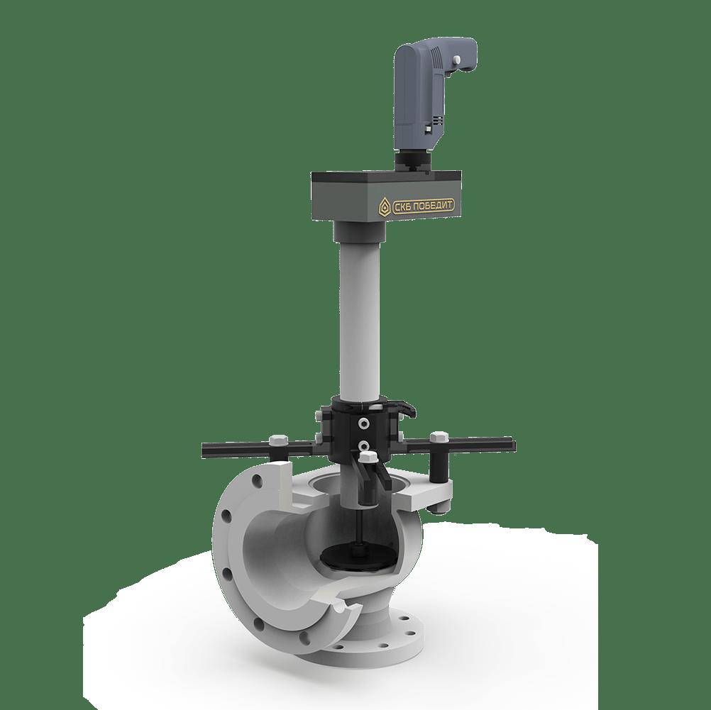 Станок переносной для ремонта запорных клапанов без удаления их из трубопровода ПОБЕДИТ-СПМ-2-К