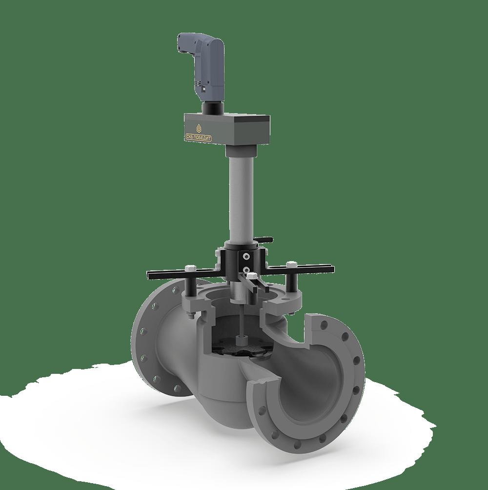 Станок переносной для ремонта запорных вентилей без удаления их из трубопровода ПОБЕДИТ-СПМ-2-В