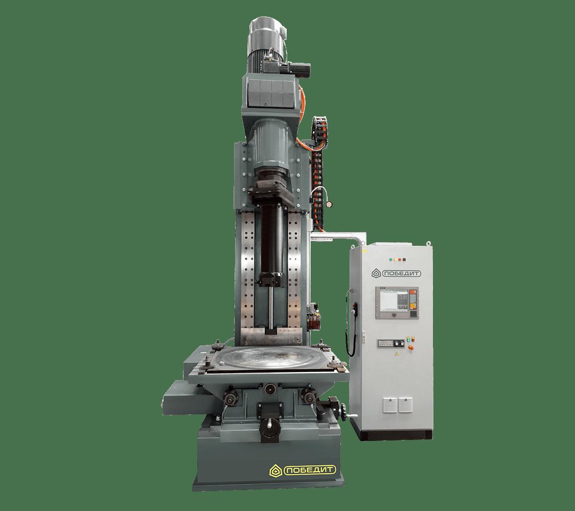 Специализированный расточной станок для механической обработки деталей трубопроводной арматуры ПОБЕДИТ-СР